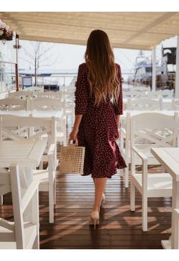Платье-халат на запах