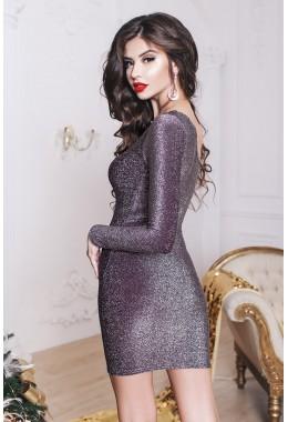 Вечернее платье с одним открытым плечем