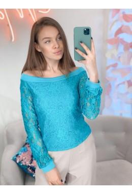 Блуза из гипюра