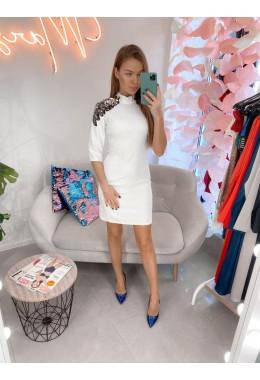 Платье белое крылья