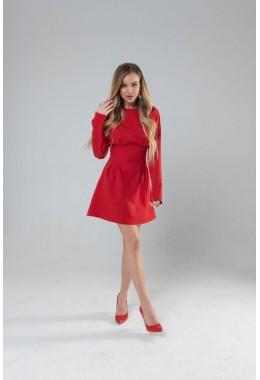 Романтическое приталенное  платье