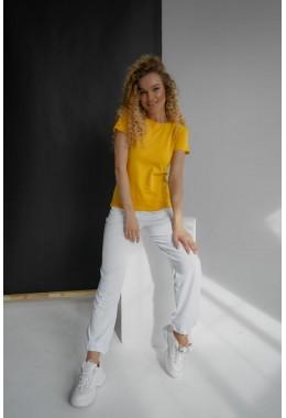 Базовая желтая футболка