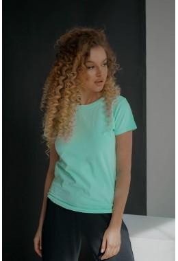 Базовая мятная футболка