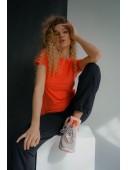 Базовая оранжевая футболка