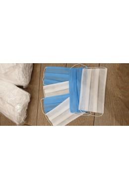 Защитная маска из медицинской ткани белая