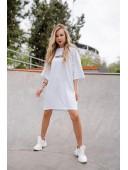 Спортивное платье OBSESSED белое
