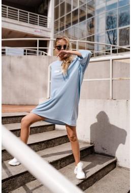 Спортивное платье OBSESSED голубое
