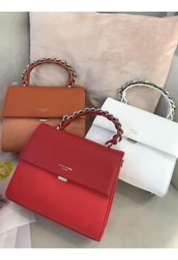 Стильная рыжая сумка