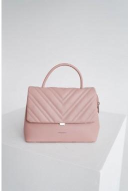 Стильная пудровая сумка