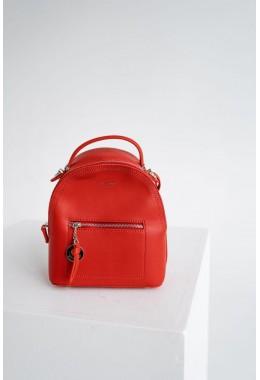 Женский рюкзак красный