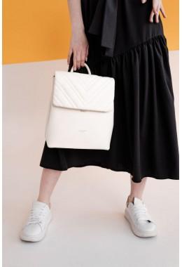 Женский молочный модный рюкзак