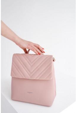 Женский розовый модный рюкзак