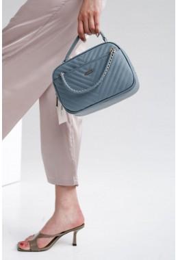 Женская модная синяя сумка