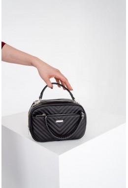 Женская модная черная сумка
