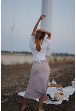 Романтический летний костюм с юбкой