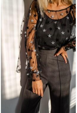 Комплект с блузкой и майкой в звезды