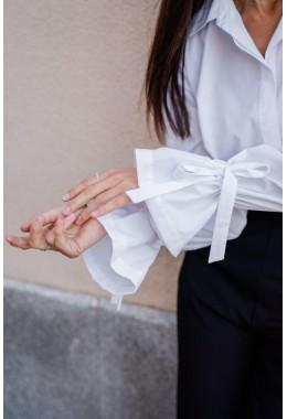 Рубашка с оригинальными рукавами