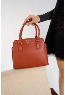 Рыжая модная сумка