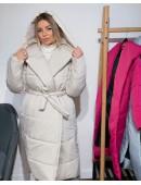 Объемная куртка с капюшоном