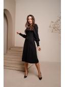 Очаровательное платье черного цвета