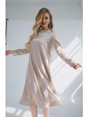 Очень красивое изумрудное платье