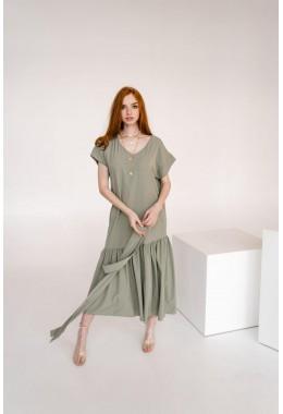 Нежное платье одуванчик