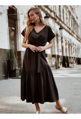Нежное платье черного цвета