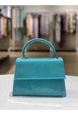 Оригинальная бирюзовая сумочка