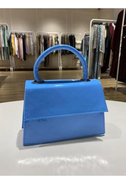 Оригинальная голубая сумочка