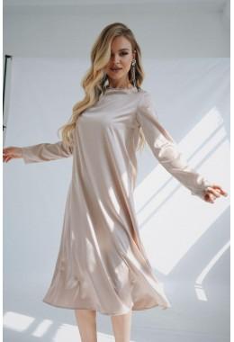 Очень красивое нежное платье свободного кроя