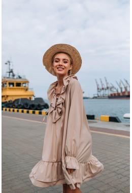 Красивое свободное платье