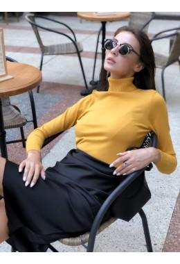 Утонченная юбка черная
