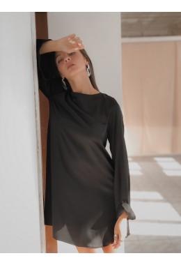 Изящное черное платье