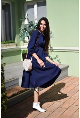 Идеальное платье для девушек в положении синего цвета
