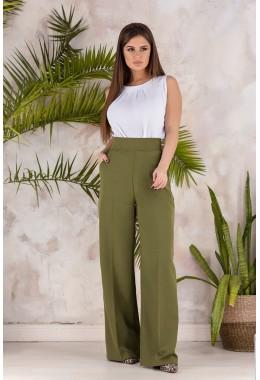 Модные брюки трубы