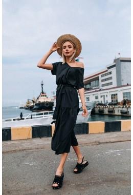 Нежное платье в черном