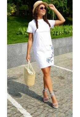 Платье Сакура белый