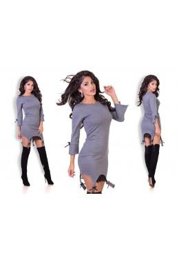 Платье имитация подтяжек