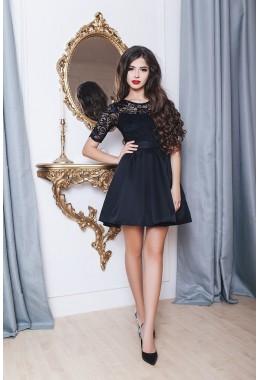Платье черное в стиле Baby Doll