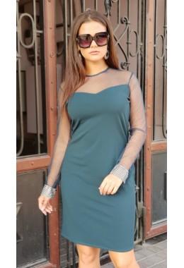 Вечернее платье с манжетом