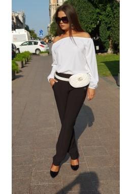 Блуза Однотон белая